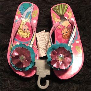 Brand new Disney Frozen flip flops